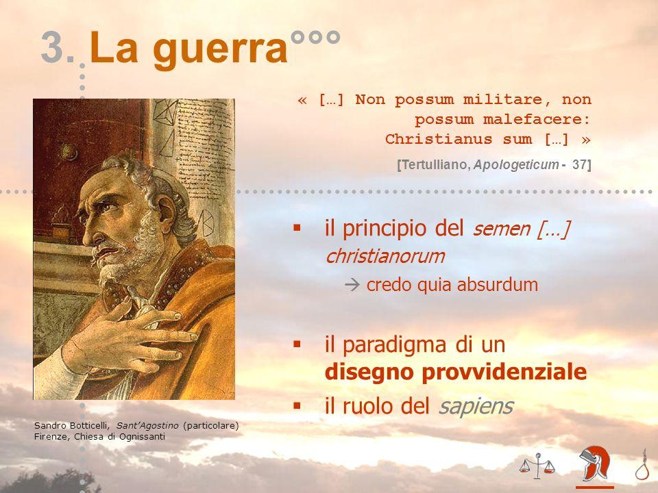 3. La guerra°°° il principio del semen […] christianorum